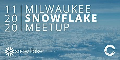 Milwaukee Snowflake Meetup –November tickets