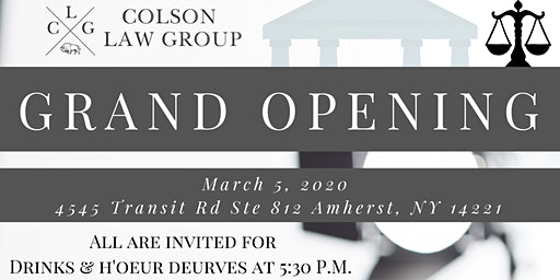 Colson Law Group Grand Opening