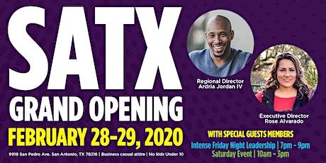 Believe San Antonio Grand Opening tickets