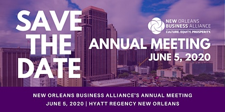 New Orleans Business Alliance 2020 Annual Meeting tickets