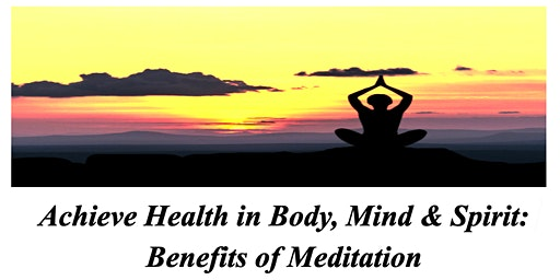 St. John United Church of Christ - Benefits of Meditation