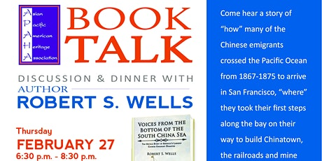 BOOK TALK: Robert S. Wells tickets