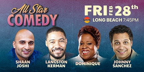 Langston Kerman, Johnny Sanchez, and more - All-Star Comedy tickets