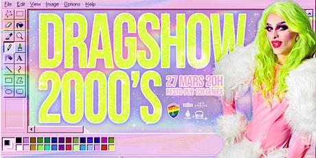Drag Show Nostalgie 2000 billets