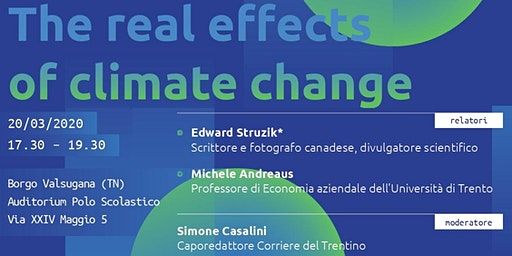 COSTRUENDO FUTURO - The real effects of climate change