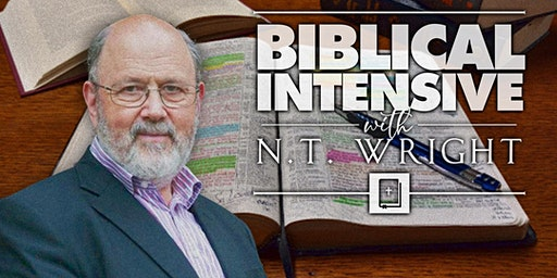 Biblical Intensive with N.T. Wright
