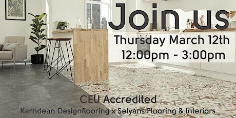 True Colours Interior Design CEU at Selyans Flooring & Interiors tickets