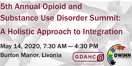 5th Annual Opioid and Substance Use Disorder Summit tickets