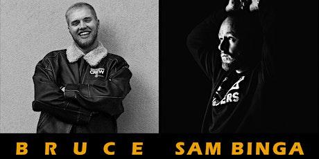 Bruce and Sam Binga at Honey tickets