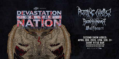 Second show added: Rotting Christ, Borknagar, Wolfheart (NEW DATE!) tickets