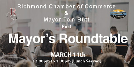 Mayor's Round-table Luncheon tickets