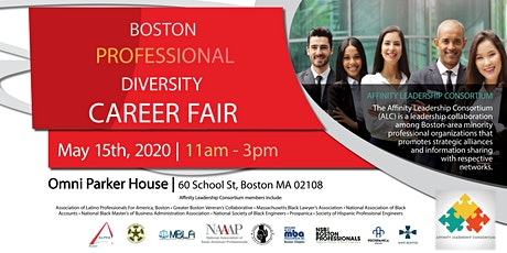 Boston Professional Diversity Career Fair tickets