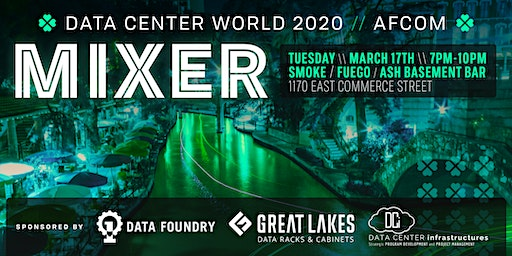 Data Center World AFCOM 2020 Mixer