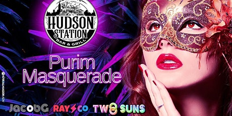 Purim Masquerade @ Hudson Station tickets