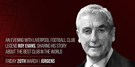 An Evening with Roy Evans tickets