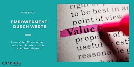 """Workshop """"Empowerment durch Werte"""" mit Dipl.-Psych. Nadja Hirsch Tickets"""