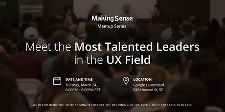 Intimate Sessions V: Meet the Most Talented Leaders in the UX Field tickets