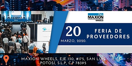 Maxion´s Supplier Workshop boletos