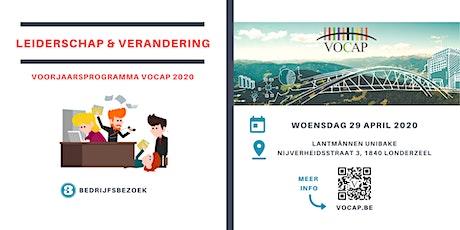 VOCAP Themareeks Leiderschap & Verandering | Deel 3: Bedrijfsbezoek tickets