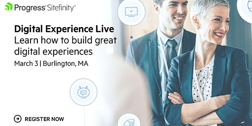 Digital Experience Live: Boston/Burlington (Free Event)