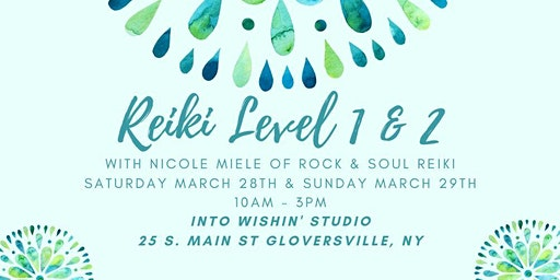 Reiki Training Level I & II