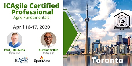 ICAgile Certified Professional (ICP) - Agile Fundamentals Training - April 2020 tickets
