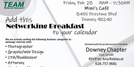 Downey Chapter Kick-Off! tickets