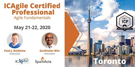 ICAgile Certified Professional (ICP) - Agile Fundamentals Training - May 2020 tickets