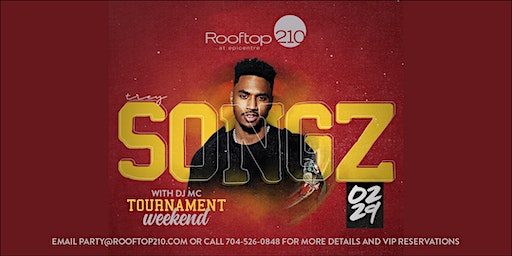 Trey Songz Saturday Night Tournament Party at Rooftop 210 at Epi Centre
