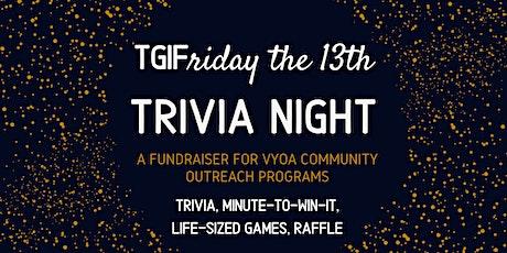 Friday the 13th Trivia Night tickets