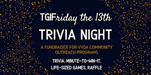 Friday the 13th Trivia Night