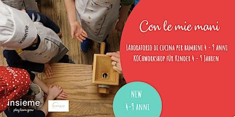 Kochkurs für Kinder (4-9 J.) - La pasta fresca Tickets