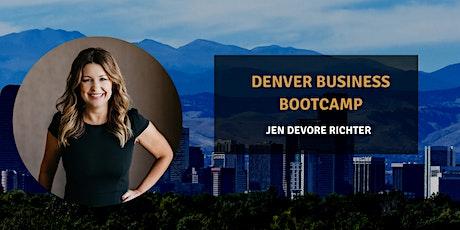 Denver Business Bootcamp tickets