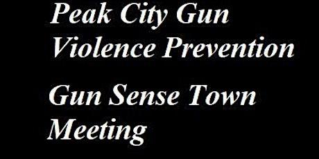 Apex Gun Sense Town Meeting tickets