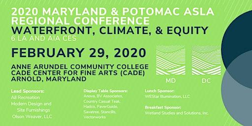 2020 Maryland & Potomac ASLA Regional Conference