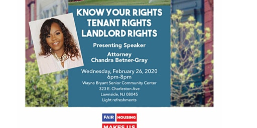 Fair Housing: Know Your Rights!!