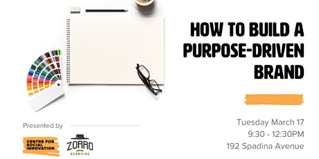 How to Build a Purpose-Driven Brand tickets