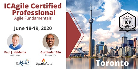 ICAgile Certified Professional (ICP) - Agile Fundamentals Training - June 2020 tickets
