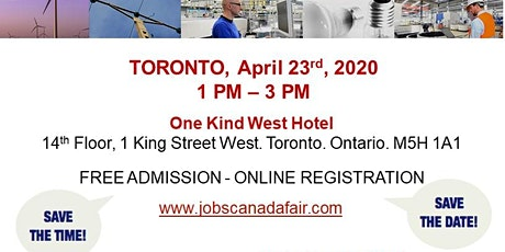 Toronto Blue Collar Job Fair - April 23rd, 2020 tickets