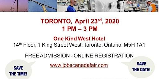 Toronto Blue Collar Job Fair - April 23rd, 2020