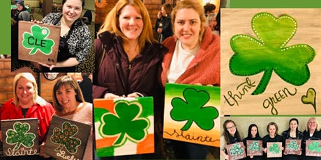 Chagrin Panini's Paint and Sip Shamrock on Wood with Any Designs and Colors tickets
