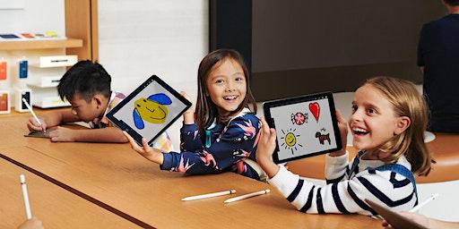 アートラボ - 子ども向け:オリジナルの絵文字を作ろう