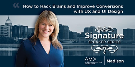 How to Hack Brains and Improve Conversions with UX and UI Design tickets
