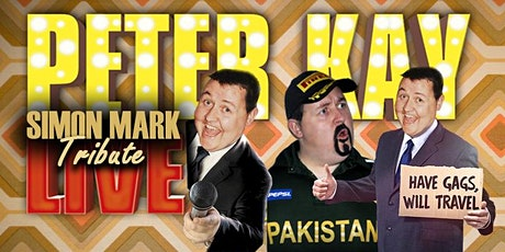 Peter Kay Live - Tribute tickets