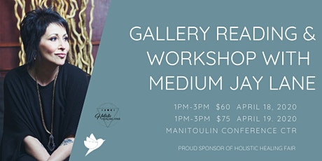 Out-of-this-World Afternoon with Medium Jay Lane - Manitoulin tickets