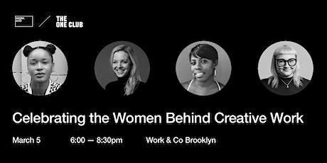 Women Did That: Celebrating The Women Behind Creative Work tickets
