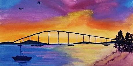 'Coronado Sunset' - Fun Paint and Sip Event tickets