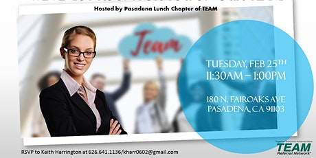 Pasadena Lunch Chapter Invitation Day tickets