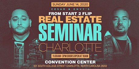 Cesar & DJ Envy's Real Estate Seminar [CHARLOTTE] tickets