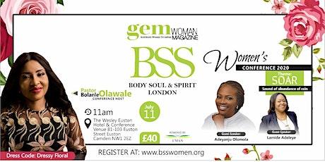 BSS Women Conference London 2020 tickets